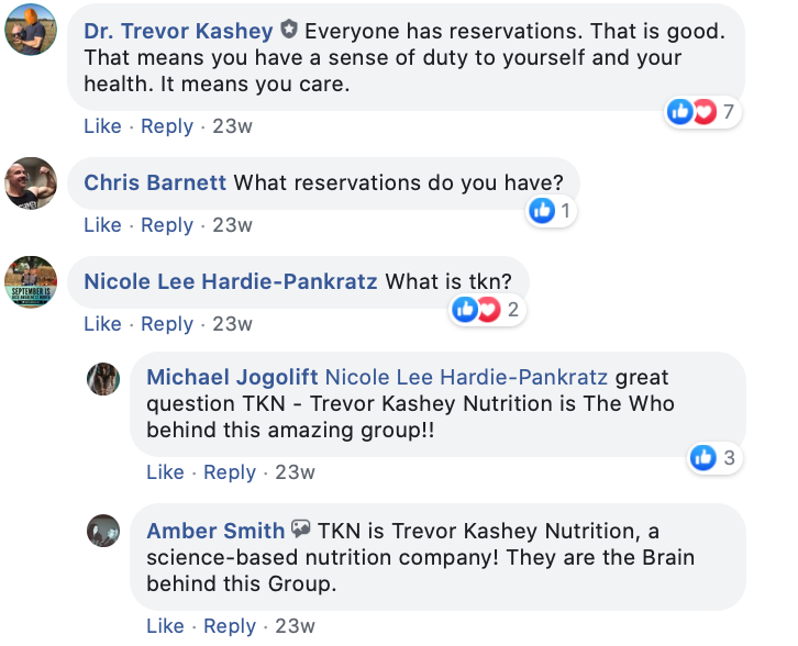 Interested in TKN but have reservations? Check out this thread